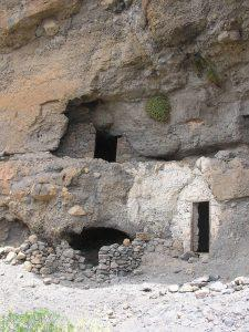 Cueva que corresponde a la zona de Acusa Seca