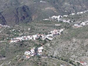 Tejeda desde la zona de Timagada