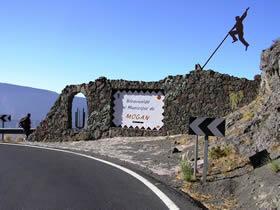Inicio de la ruta - Degollada de Tasarte