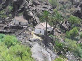 Molino de agua en el barranco de Santa Lucía