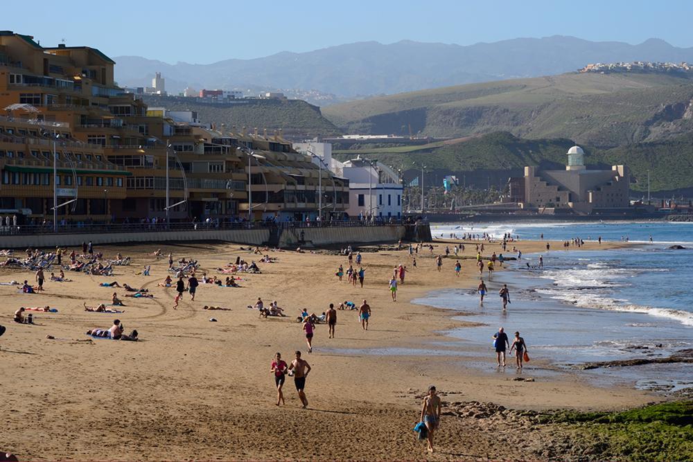Playa de Las Canateras