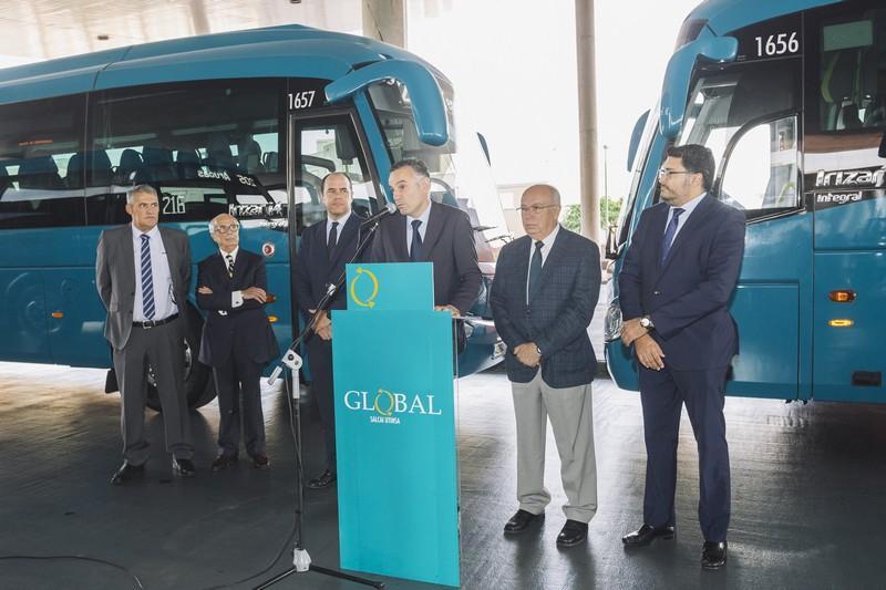 GLOBAL incorpora a su flota 22 nuevas guaguas