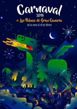 Cartel del Carnaval de Las Palmas de G.C.