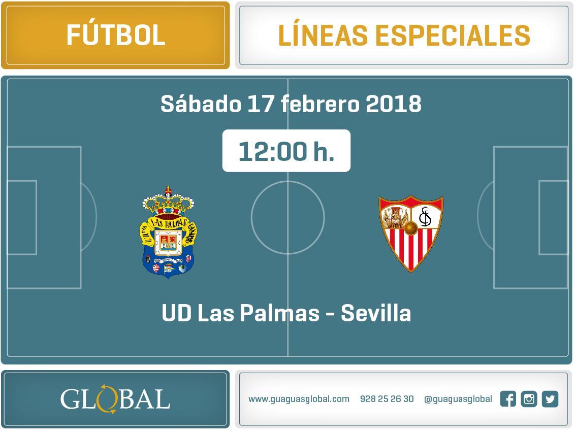 Servicios Especiales: Unión Deportiva Las Palmas - Sábado 17 de febrero