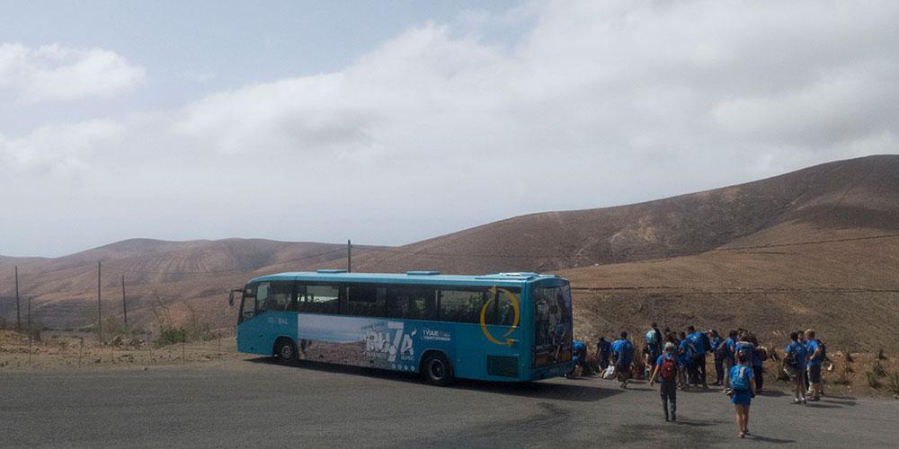 Ruta Siete pasa por Fuerteventura