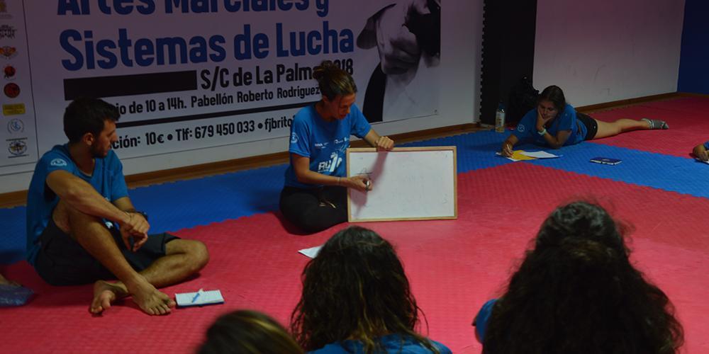 Los participantes de Ruta Siete pasan por La Palma