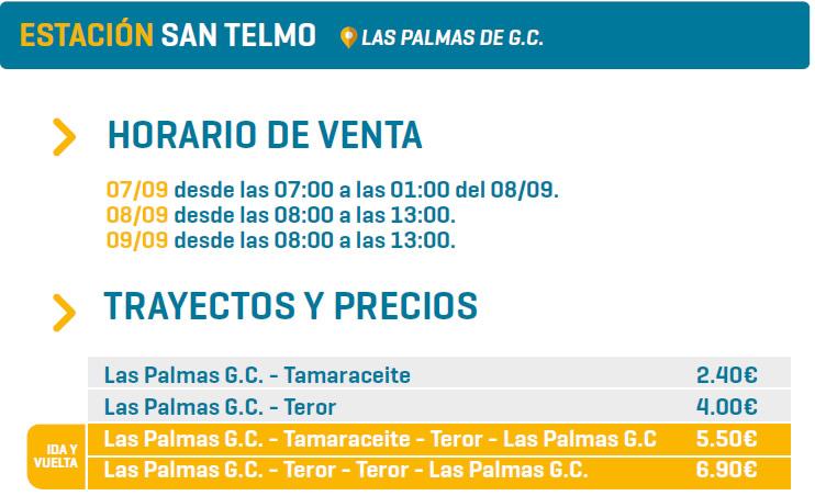 ESTACIÓN SAN TELMO - LAS PALMAS DE G.C.