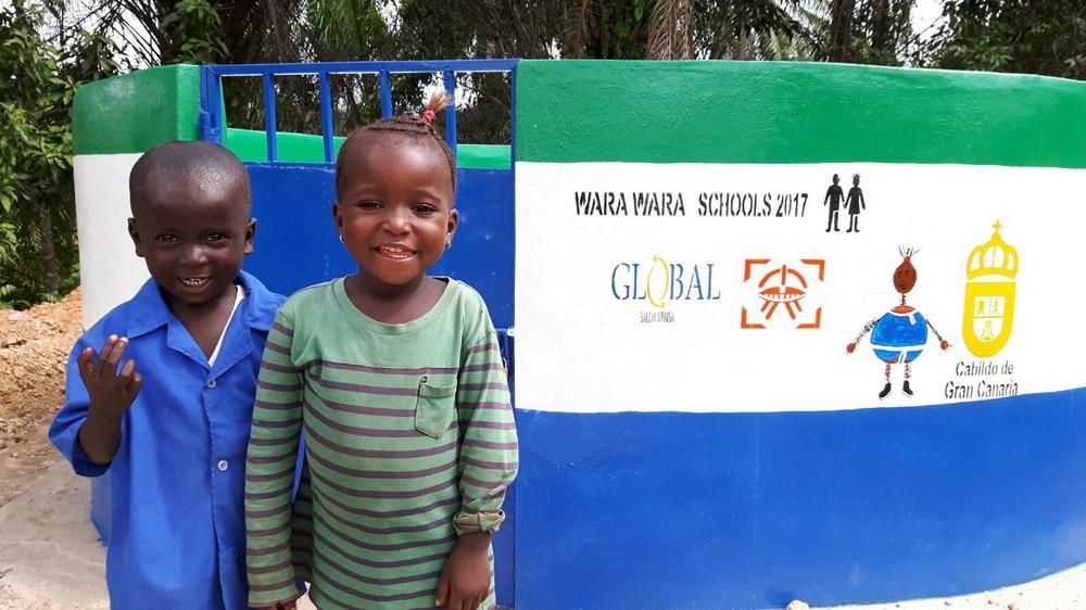 GLOBAL se suma al Museo Antonio Padrón para impulsar la construcción de un pozo en Sierra Leona