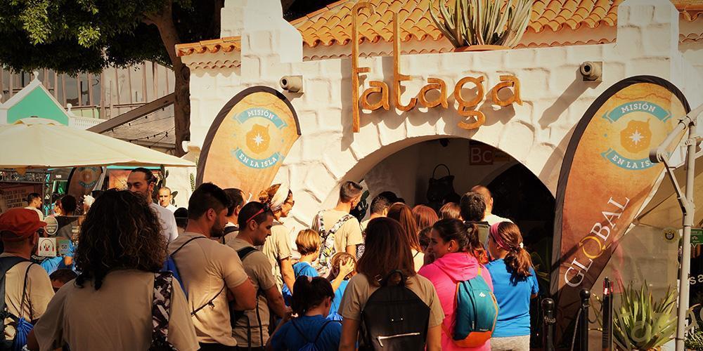 Casa Fataga. Misión en la Isla