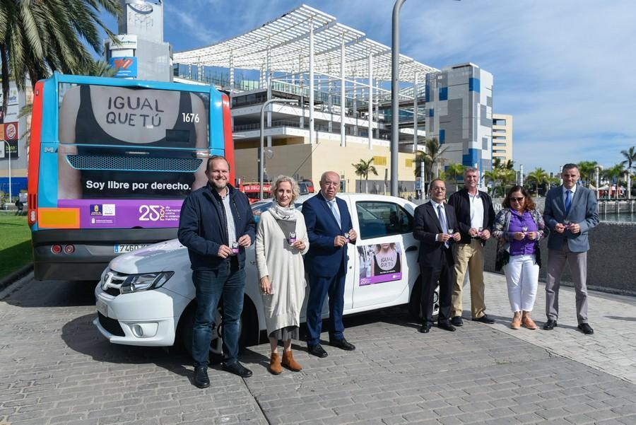 GLOBAL se suma a la campaña del Cabildo de Gran Canaria contra la Violencia de Género