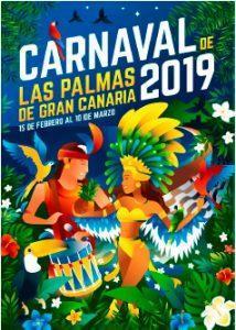 Cartel Carnaval LPGC