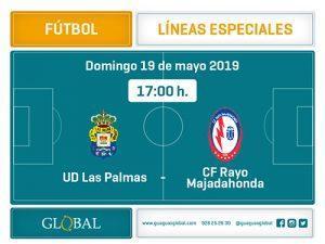 Fútbol, domingo 19 de mayo