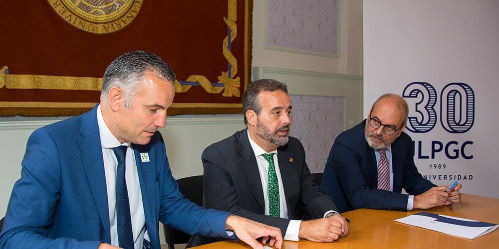 GLOBAL firma el acuerdo anual de colaboración con la ULPGC