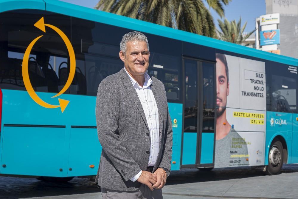 Tres Guaguas recorren Gran Canaria para cuidarnos del VIH