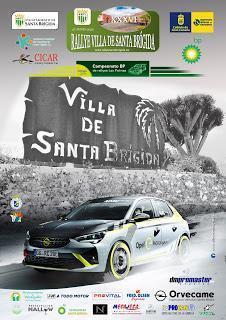 Cartel del 26 Rallye Villa de Santa Brígida