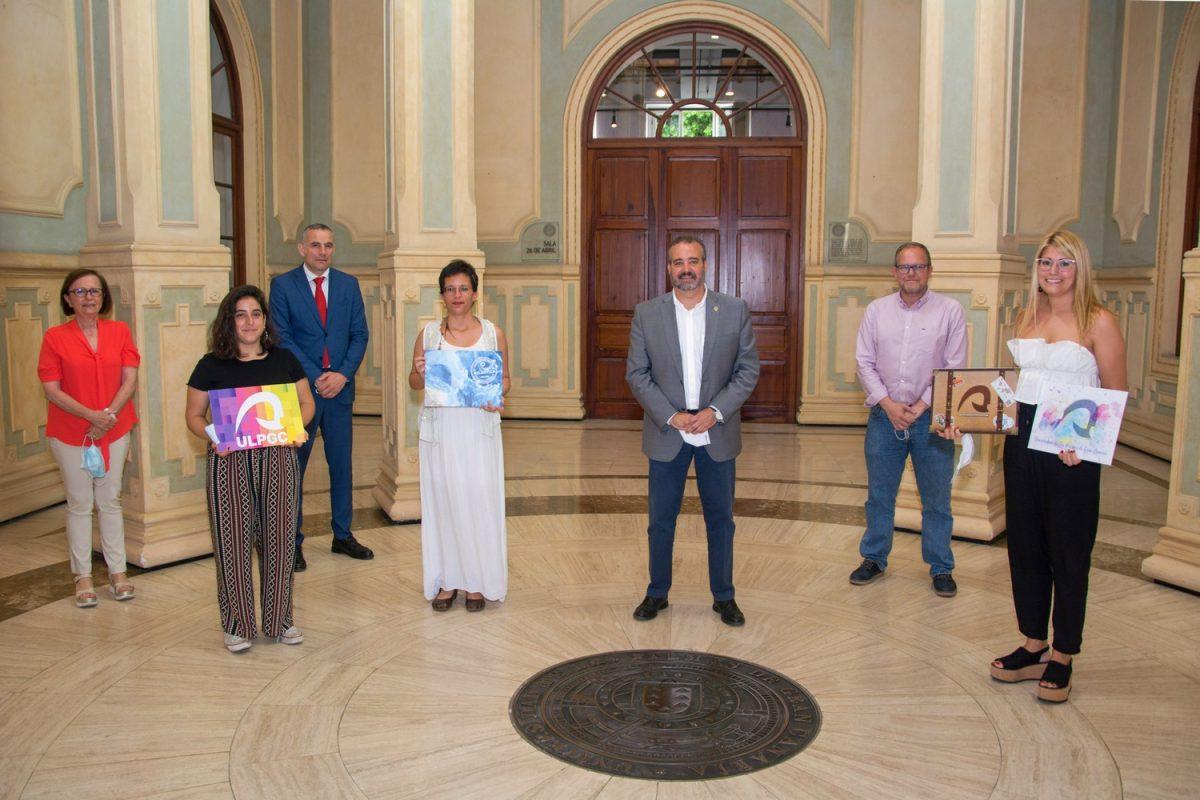 Entrega de los premios del VIII concurso de diseño de Carpetas ULPGC