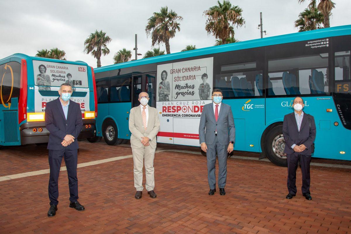 (Español) GLOBAL lleva por Gran Canaria el agradecimiento de Cruz Roja