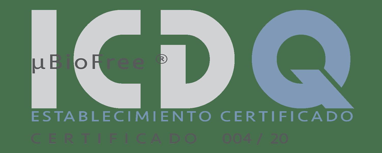 Certificación MicroBioFree