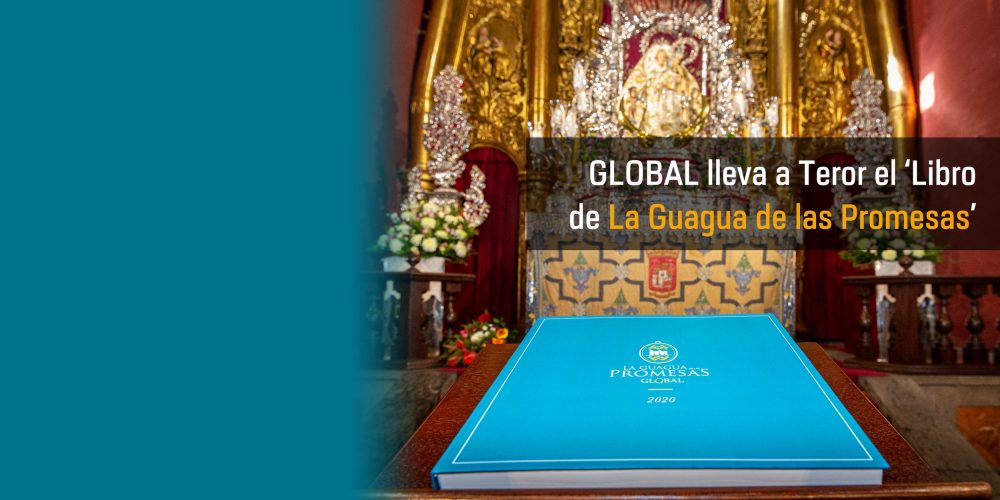 Global lleva a Teror el Libro de La Guagua de las Promesas